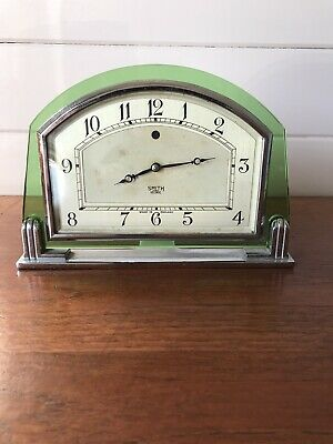 Vintage Stunning Smiths Sectric Art Deco Mantle Clock Working