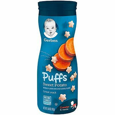 Gerber Graduates Puffs - Sweet Potato - Baby Cereal Snack 42g (Pack of 1)