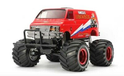 Tamiya 47402 1/12 EP RC CW-01 Monster Truck Lunch Box Red Edition Limited Kit