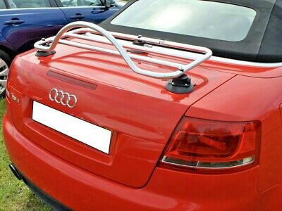 Audi A4 Cabriolet Trunk Boot Luggage Rack ; No Clamps = No Damage