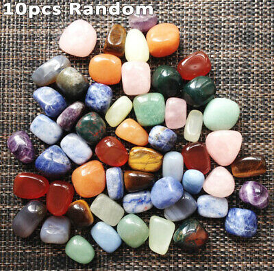Mixed Naturalssorted Natural Collectable Tumbled Stones Crystal Healing~Gemstone