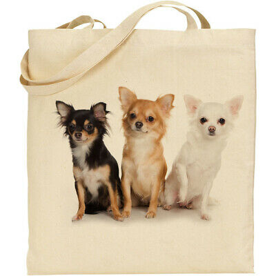 Chihuahua Dog Tote /Shopper / Reusable Bag Great Gift Fast Despatch