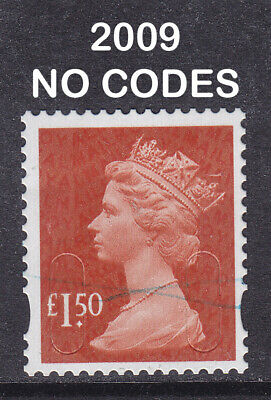 2009 Machin £1.50 Brown Red SG U2913 MAIL+MAIL DLR 2B Fine Used Security Stamp