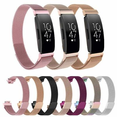 For Fitbit Inspire HR Stainless Steel Milanese Replacement Wrist Band Straps NEW