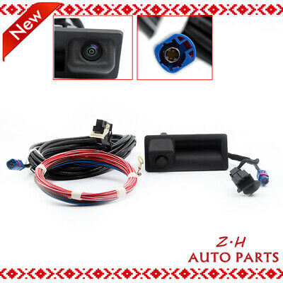 Car Rear View Backup Camera&Cable Kit Fit For 11-14 VW Golf Tiguan Passat RCD510