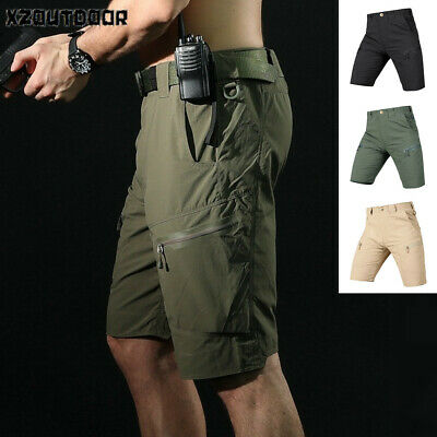 9e2dc17012 Mens Cargo Shorts Army Combat Tactical Military Summer Quick Dry Casual  Hiking