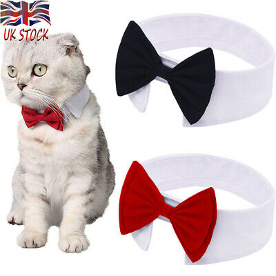 Adorable Dog Cat Pet Puppy Kitten Bow Tie Necktie Collar Clothes Decor Toy Gifts