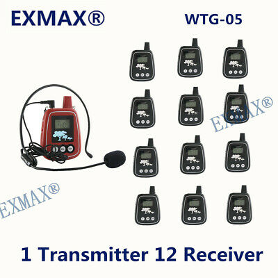 Wireless Tour Guide System For Team Outdoor Activities1 Transmitter 12 Receiver
