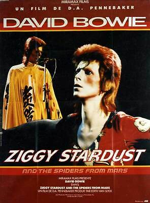 Affiche ZIGGY STARDUST AND THE SPIDERS FROM MARS
