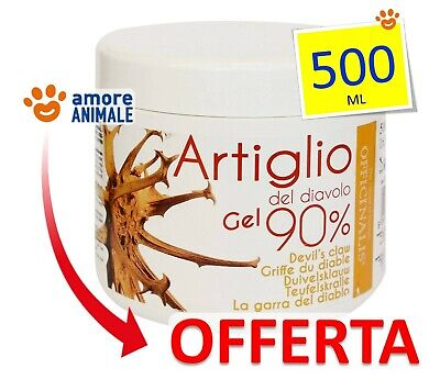 Officinalis Artiglio del Diavolo 90% Gel  500 ml - Antinfiammatorio Distorsioni