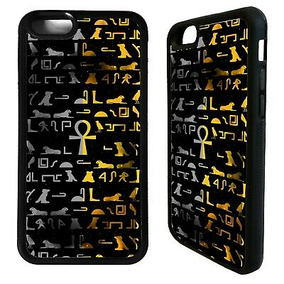 Ancient egyptian hieroglyphic art case cover for iphone 5 6 7 8 plus X XS Max XR