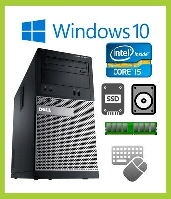 Cheap Fast Dell Optiplex 3010 PC Computer Quad i5 4GB/8GB 500 1TB/SSD Windows 10