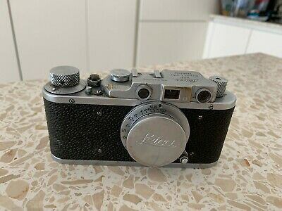 Vintage Russian copy of Leica Ernst Leitz Wetzlar D.R.P. No 220209 Camera