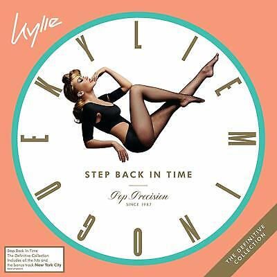 Kylie Minogue Step Back In Time The Definitive Collection 2Cd (Pre-Order 28 June