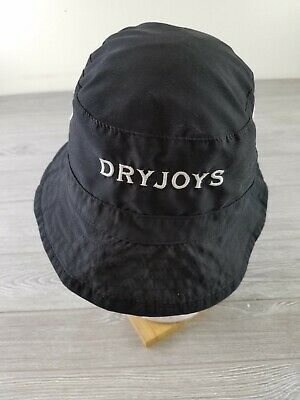 7d98f1155896 FOOTJOY DRYJOYS PREMIUM Waterproof Bucket Hat/Cap - BLACK - L/XL ...