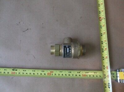 "Watts 9D-M3 Dual Check Backflow Preventer 1"", 1/2"""