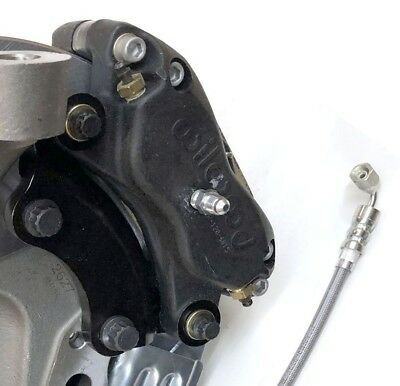 SET OF DRUM to Disc Brake Conversion Caliper Brackets for 73