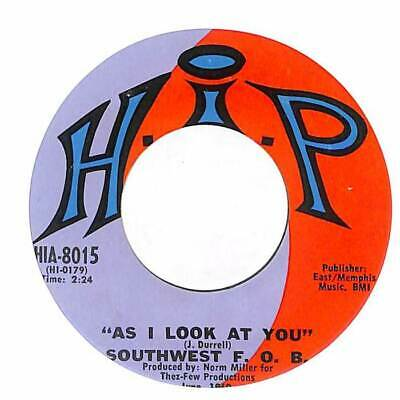 "Southwest F.O.B. - As I Look At You  - Import - 7"" Record Single"