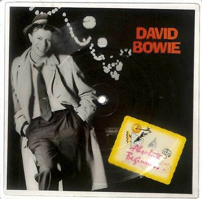 """David Bowie - Absolute Beginners - Shaped Picture Disc - 7"""" Record Single"""