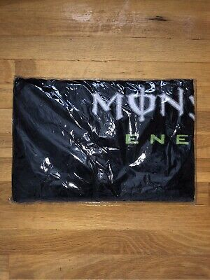 Monster Energy Beach Towel new unopen tabs vault not sign can bottle sticker
