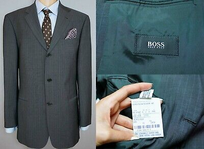 be49a690cb702 HUGO BOSS, 48, Costume slim fit, sergé de laine vierge - EUR 380,00 ...