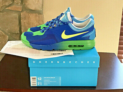 meet 3e349 a9003 Nike Air Max Zero DB Doernbecher Blue Yellow Green sz 12 w  Receipt