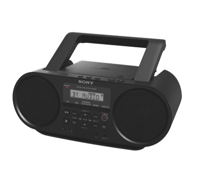 Sony ZS-RS60BT Bluetooth Portable Boombox - Black-Refurbished