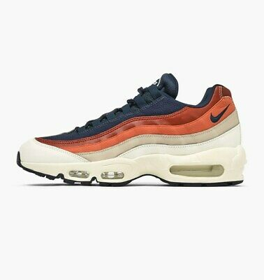 uk availability 91198 a3e5a Nike Air Max 95 Essentielle Voile / Obsidienne/Sable Désert 749766 108  Taille UK