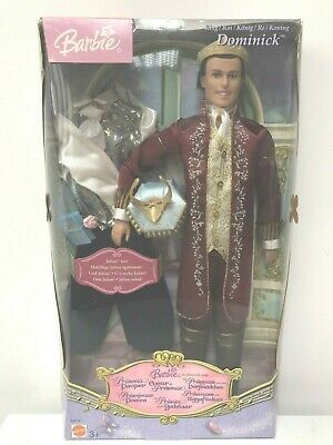 BARBIE PRINCESS AND THE PAUPER - KEN as KING DOMINICK DOLL MATTEL 2004