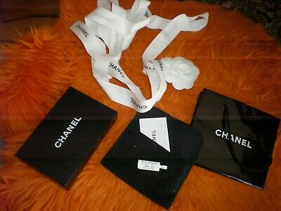 816943ef3a95 LOT OF 3 EMPTY CHANEL Empty Jewelry/Gift Box & GIFT BAG AND SUNGLASSES BOX
