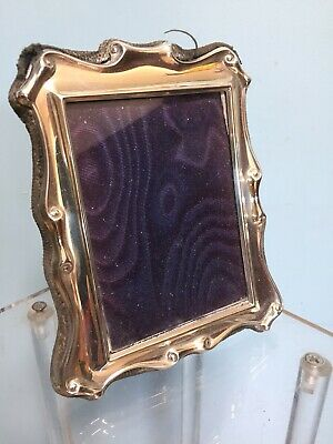 Solid Silver Sheffield Photo Picture Frame 1990