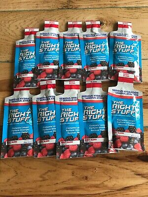 The Right Stuff Electrolyte Drink Hydration Recovery 10-Pouch Berry Blend