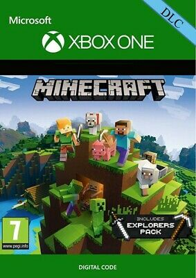Minecraft Explorer's Pack Game Add-On DLC Xbox One key -Worldwide-