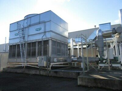 816 Ton Evapco Cooling Tower, Stainless Basin