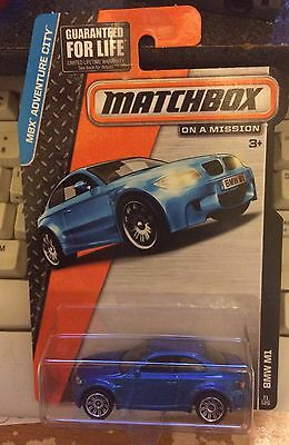 BMW M1 Sports Coupe Turbo Red E82 Matchbox MB893 MBX Adventure City #8 2014
