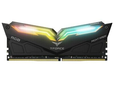 Team Group Night Hawk RGB 16GB 2x8GB 3200MHz DDR4 RAM TF1D416G3200HC16CDC01