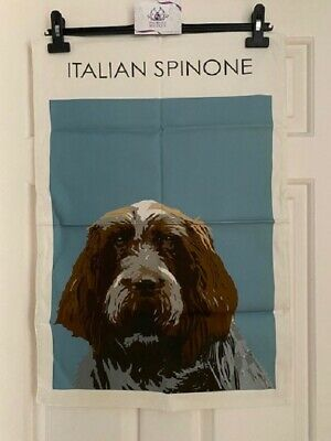 Italian Spinone Dog Tea Towel By Betty Boyns Lovely Quality Item 100% Cotton