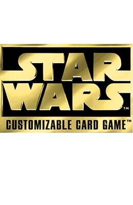 STAR WARS CCG Comons and Uncommon sets