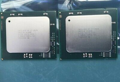 Matched pair Intel Xeon E7-2870 (20 physical cores in total)