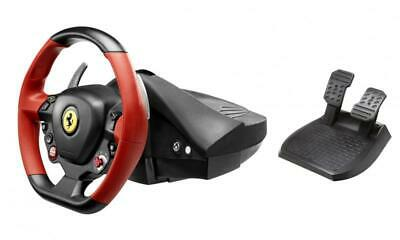 Thrustmaster Ferrari 458 Spider Racing Steering Wheel and pedals for Xbox One