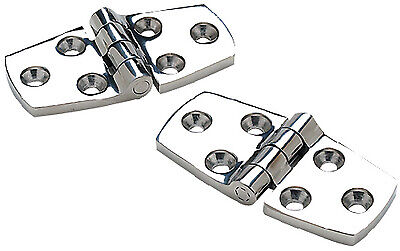"""Seachoice Strap Hinge-4/"""" X 1 1//16/"""" Stamped Stainless Steel SCP 33851"""