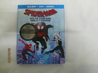 spider-man Into The Spider verse Blu Ray Combo.   Including Digital Copy NEW!!!
