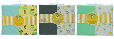 Honey Baby Toddler Bed or Crib Sheets 2-Pack (100% Cotton) NEW!!!