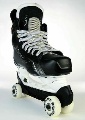 RollerGard Ice Skate Guards, One Size Fits All, Black / Ice Skates = Rollerblade