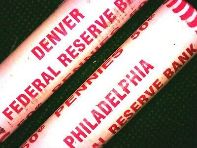 1979 D Bu Lincoln Memorial Cent Roll Rare Sealed Unsearched K-Date Private Rolls