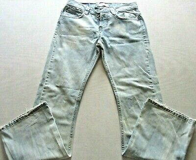 fe3cad1f Men's Levi's Silvertab Jeans Modern Boot Button Fly 32x32 Light Wash  distressed