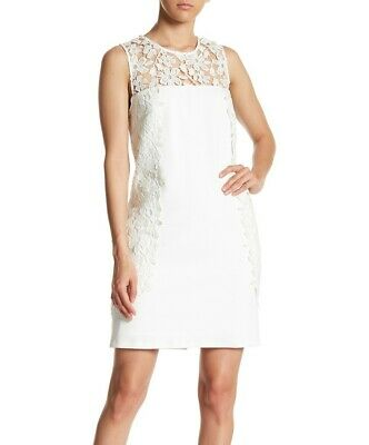 f3575d8789 NWT $159 NANETTE nanette lepore Crocheted Lace Dress 10 - $29.98 ...