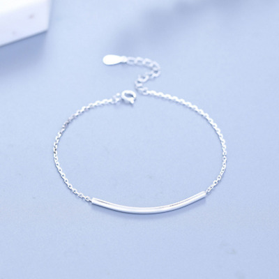 REAL 925 Sterling Silver Classic .925 Bracelet Chain Bangle SOLID SILVER Jewelry