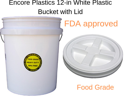 GAMMA SEAL SCREW On 5 Gallon Bucket Lids - Air Tight - Food