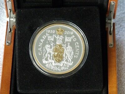 1959-2019 Masters Club - 50-cent Pure Silver Coin - 60th Anniversary